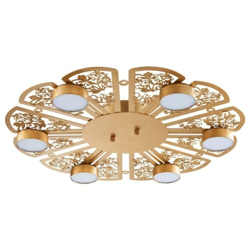 Фото - Светильник светодиодный Favourite Ornamentum 2605-6C, LED, 24 Вт потолочный светильник favourite 1347 6c