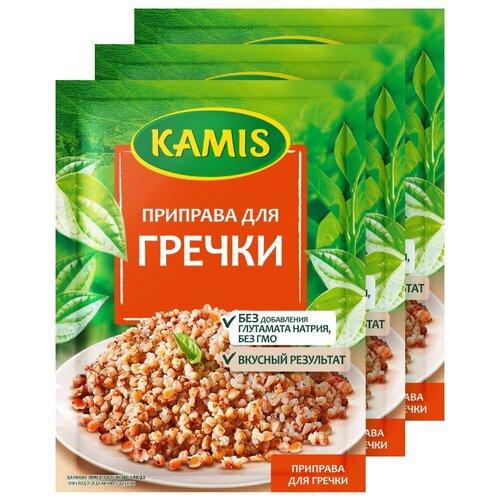 Фото - KAMIS Приправа Для гречки, 3х20 г kamis приправа тосканский лосось 4х18 г