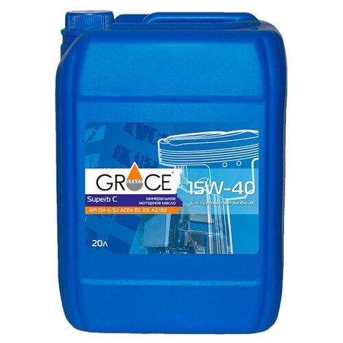 Моторное масло Grace Lubricants Superb C 15W-40 20 л
