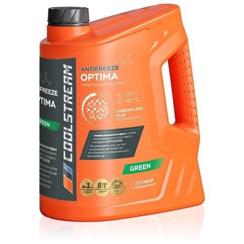 Антифриз Coolstream Optima Green 5 кг антифриз coolstream standard 40 зеленый 5 л