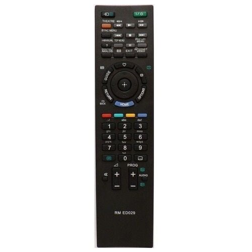 Пульт ДУ Huayu RM-ED029 для телевизоров Sony KDL-32EX40B/KDL-40EX43B/KDL-32EX43B/KDL-40EX40B черный
