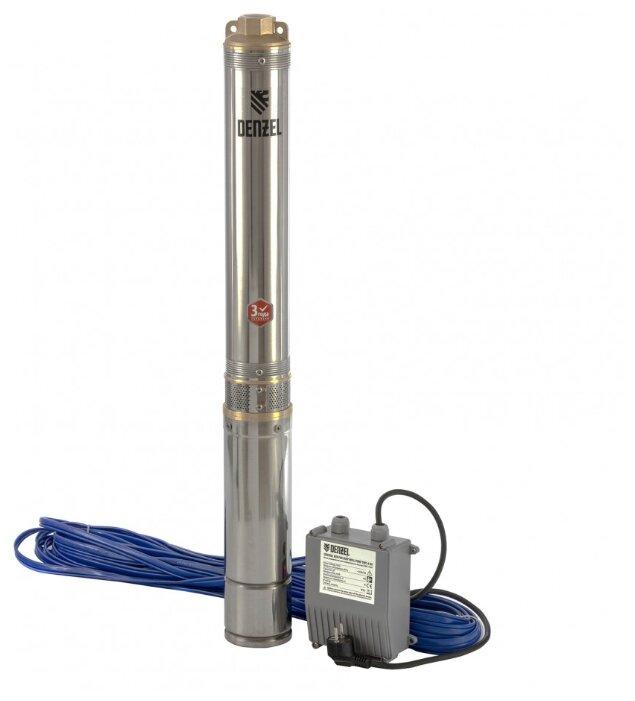 Скважинный насос Denzel DWC-4-80 (1500 Вт)