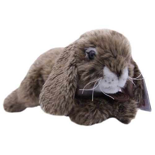 Мягкая игрушка Anna Club Plush Кролик коричневый лежащий 10 см