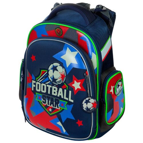 Hummingbird Рюкзак Football Star (TK49), синий hummingbird рюкзак miss b t20 серый