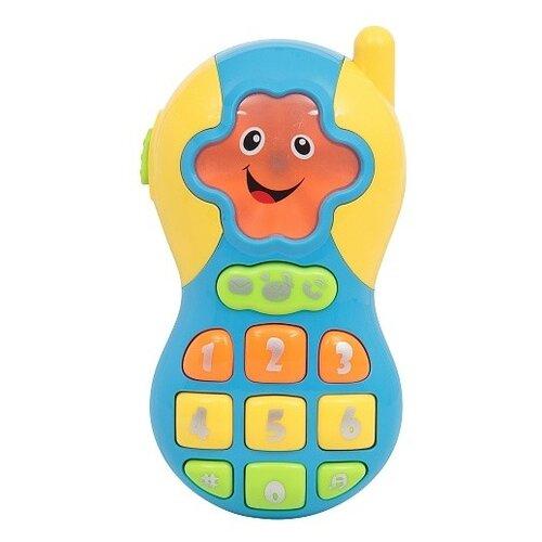 Купить Развивающая игрушка Развитика Телефончик (РА-ZY610352) голубой, Развивающие игрушки