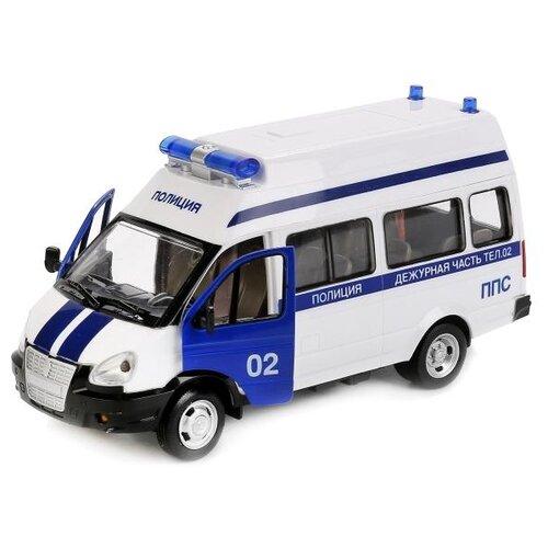 Купить Микроавтобус Play Smart 9707-E (X600-H09222), 21.5 см, белый, Машинки и техника
