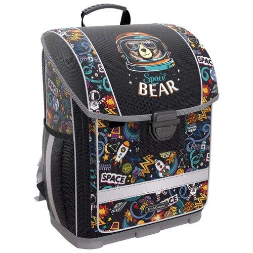 цена ErichKrause ранец ErgoLine Space Bear, черный онлайн в 2017 году