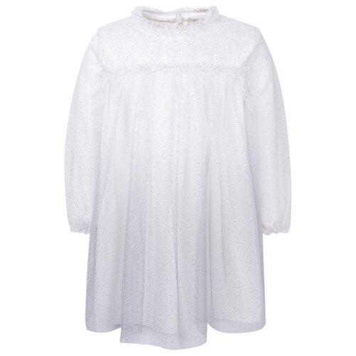 Платье Il Gufo размер 80, серебряный