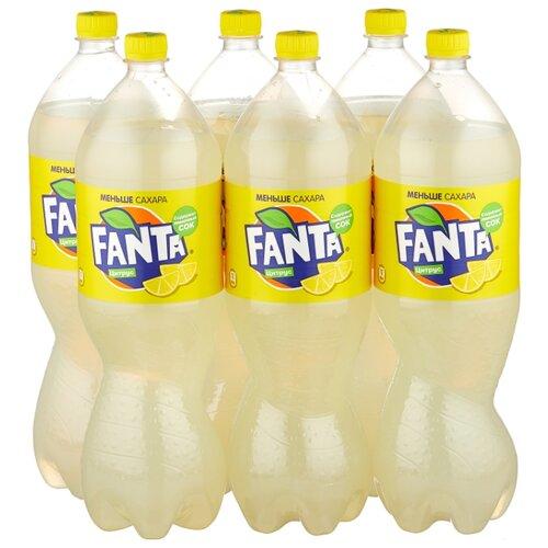 Газированный напиток Fanta Цитрус, 2 л, 6 шт.