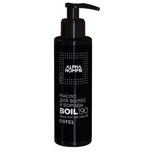 Estel Professional Масло Alpha Homme для волос и бороды с дозатором, 190 мл