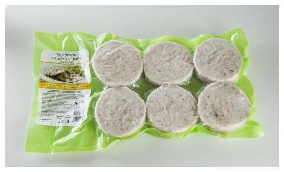 ВкусВилл Замороженный ромштекс Аппетитный куриный с зеленью 480 г