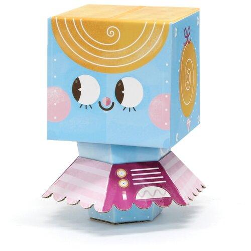 Игрушка из картона Krooom Робот балерина, модель Fold my Robot krooom игрушки из картона 3d пазл монстры k 701