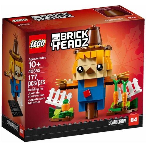 Купить Конструктор LEGO BrickHeadz 40352 Пугало на День благодарения, Конструкторы