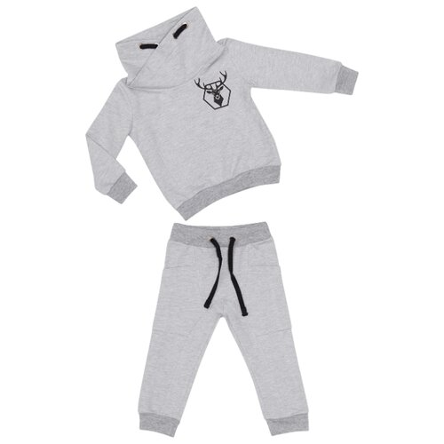 Купить Комплект одежды ALENA размер 98-104, серый, Комплекты и форма