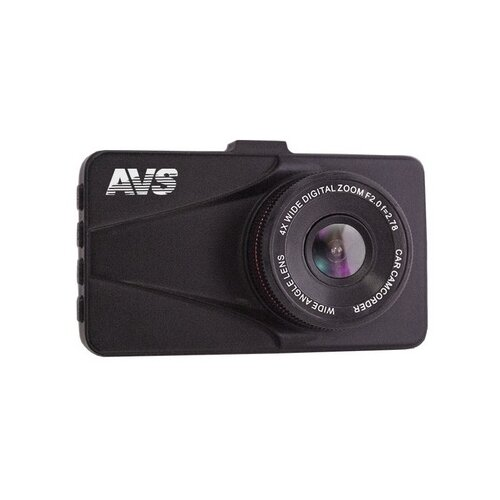 Видеорегистратор AVS VR-706FH, черный видеорегистратор avs vr 802shd черный
