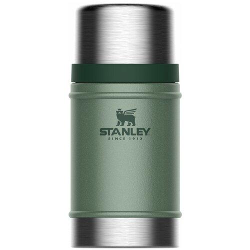 Термос для еды STANLEY Classic Food Jar, 0.7 л темно-зеленый