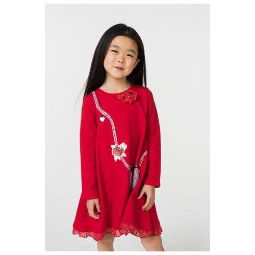 Купить Платье Sarabanda размер 98, красный, Платья и сарафаны