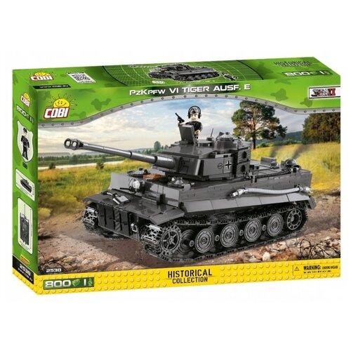 Фото - Конструктор Cobi Small Army World War II 2538 Немецкий тяжелый танк Panzerkampfwagen VI Tiger Ausf.E. конструктор cobi small army world war ii 2188 амфибия vw typ 166 schwimmwagen
