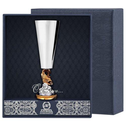 АргентА Рюмка Золотая рыбка с позолотой ваза marquis 7039 mr
