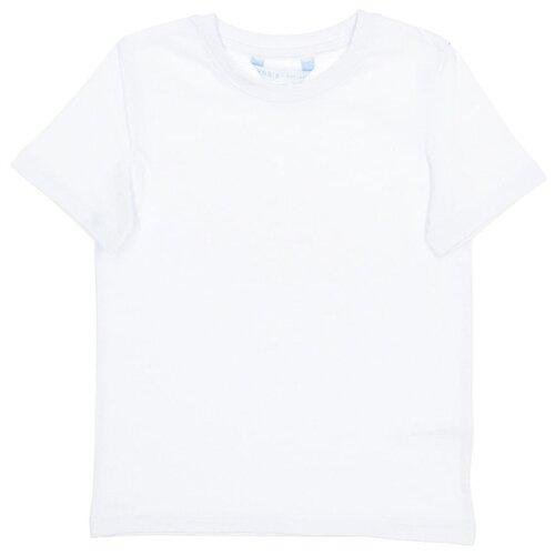 Футболка MODIS размер 116, белый блуза modis modis mo044ewaimj8