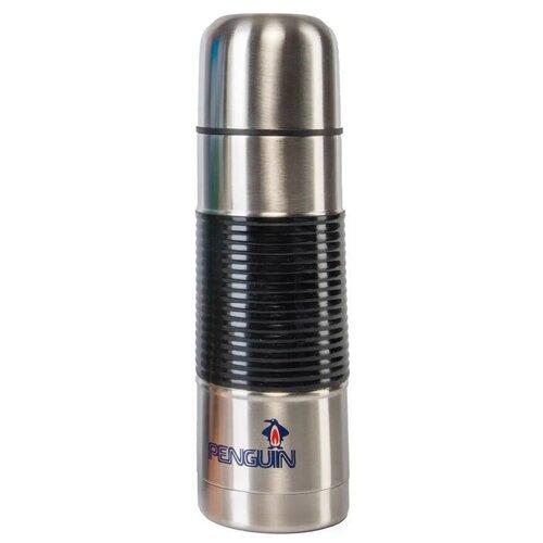 Классический термос Penguin BK-37, 0.75 л стальной/черный