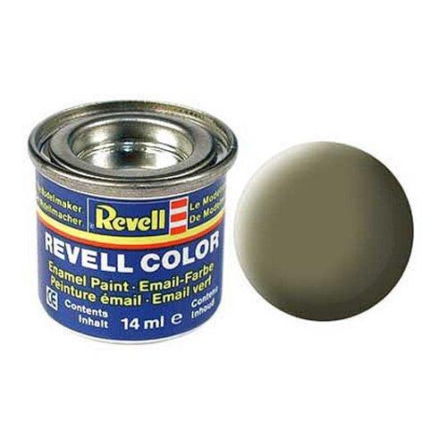 Краски для моделизма, эмалевая, светло-оливковая, РАЛ 7003 матовая