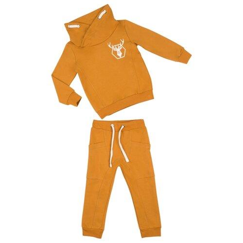 Купить Комплект одежды ALENA размер 98-104, горчичный, Комплекты и форма