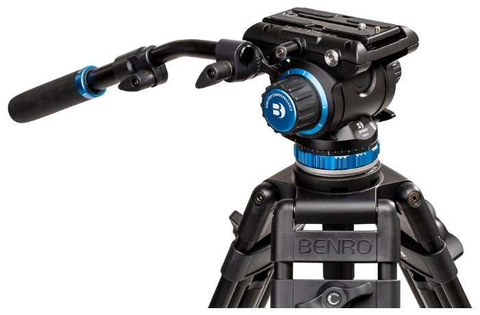 Benro S6Pro видеоголова/6 кг/контрбаланс