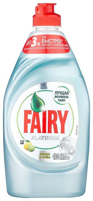 Fairy Средство для мытья посуды Platinum Лимон и лайм