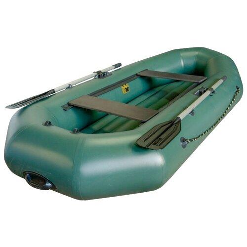 Надувная лодка Leader Компакт 270 НД зеленый лодка надувная sibriver агул 255 нд
