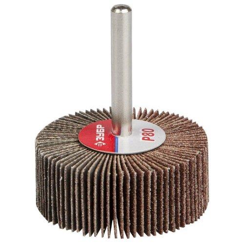Фото - Лепестковый диск ЗУБР 36601-080 P80 50 мм диск круг лепестковый зубр 125x22mm 36563 125 60