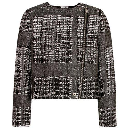 Жакет Karl Lagerfeld размер 128, черный/серый/серебристый