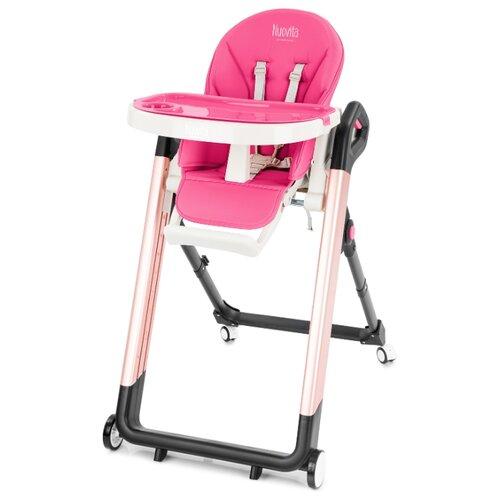 Купить Стульчик для кормления Nuovita Orbita малиновый/розовый, Стульчики для кормления