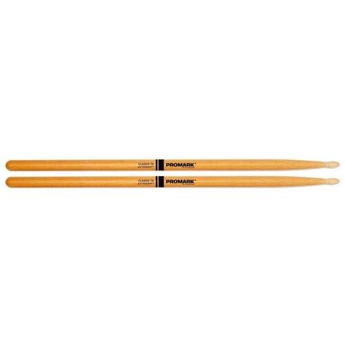 Фото - Барабанные палочки Pro-Mark Classic 7A ActiveGrip Clear барабанные палочки pro mark rebound 7a activegrip