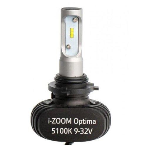 Лампа автомобильная H10 Optima LED i-ZOOM, Seoul-CSP, White, 9-32V, 2 лампы
