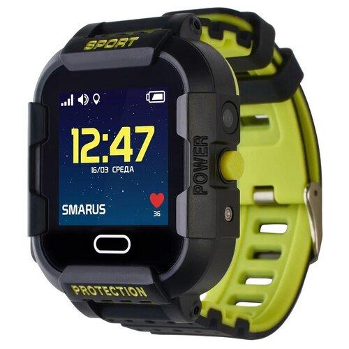 Детские умные часы Smarus K6, черный умные часы детские ginzzu gz 503 touch черный