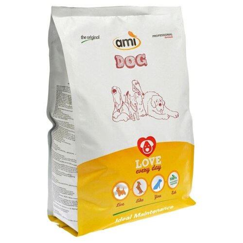 Сухой корм для собак Ami вегетарианский 1.5 кг тапочки mon ami mon ami mo151awbzam3