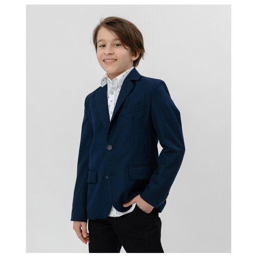 Купить Пиджак Button Blue размер 152, синий, Пиджаки