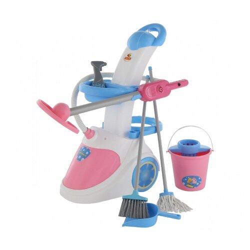 Купить Игровой набор Coloma Y Pastor Помощница 5 59314 (в коробке) белый/голубой/розовый/серый, Детские кухни и бытовая техника