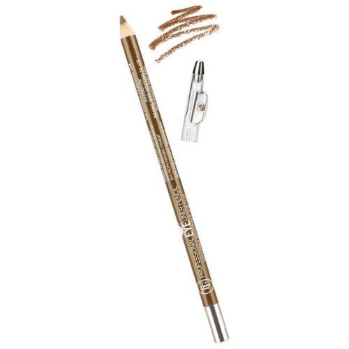 TF Cosmetics Карандаш для глаз с точилкой Professional Eyeliner, оттенок 141 темное золото