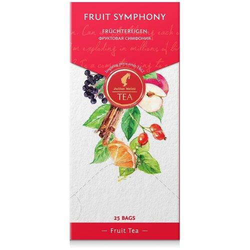 julius meinl семь морей чай улун листовой 50 г Чай красный Julius Meinl Fruit symphony в пакетиках, 25 шт.