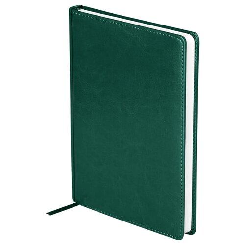 Купить Ежедневник OfficeSpace Nebraska недатированный, искусственная кожа, А5, 136 листов, зеленый, Ежедневники, записные книжки
