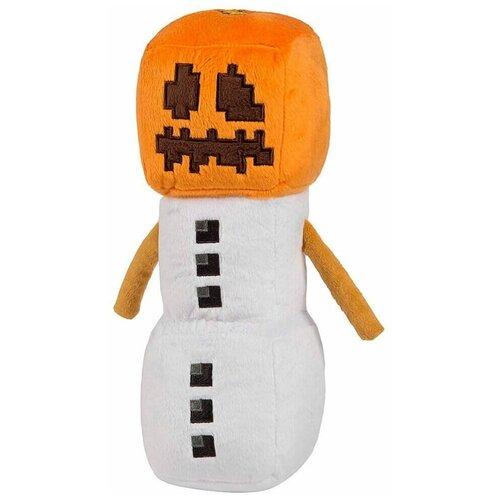 Мягкая игрушка MOJANG Снежный Голем из Minecraft 18 см