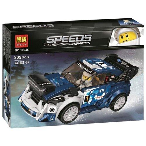 Конструктор Lari (Bela) Speeds Champion 10945 Ford Fiesta M-Sport WRC boegli boegli m 793