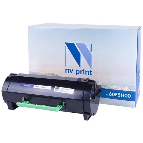 Фото - Картридж NV Print 60F5H00 для Lexmark, совместимый картридж nv print 51b5h00 для lexmark совместимый