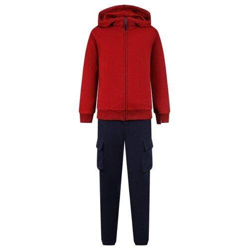 Купить Комплект одежды Il Gufo размер 140, бордовый/синий, Комплекты и форма