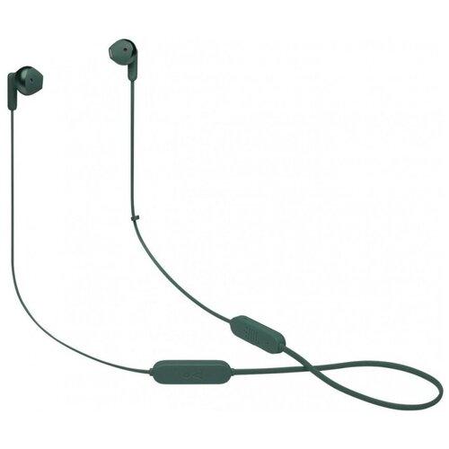 Беспроводные наушники JBL Tune 215BT, green беспроводные наушники jbl tune 215bt black