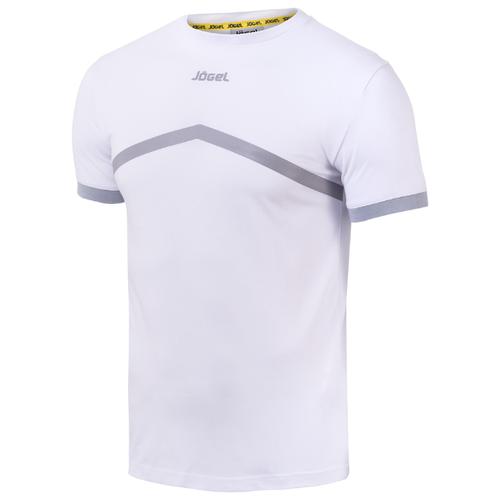 Футболка Jogel JCT-1040 размер YL, белый/серый