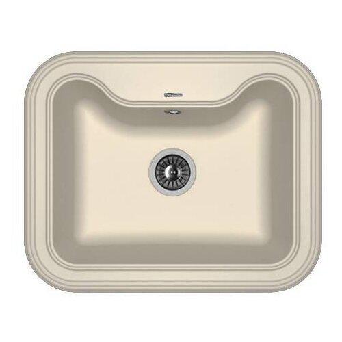 Врезная кухонная мойка 63 см FLORENTINA Крит-630 FS 20.110.D0630.201 жасмин florentina мойка кухоннаяflorentina нире 630 жасмин