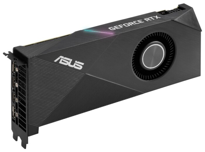 Видеокарта ASUS TURBO GeForce RTX 2060 SUPER 1470MHz PCI-E 3.0 8192MB 14000MHz 256 bit 2xDisplayPort